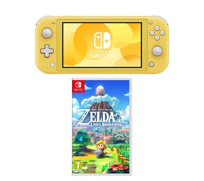 NINTENDO Switch Lite & the Legend of Zelda: Links Awakening Bundle