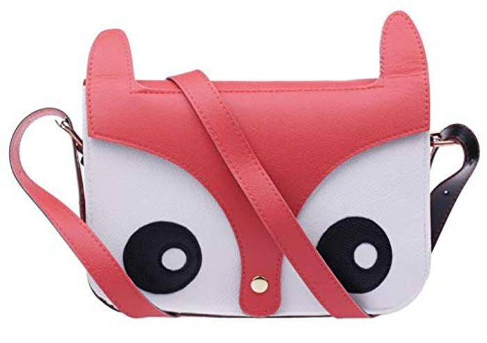 Fox Owl Shoulder Messenger Bag Pu Leather Crossbody Satchel FREE DELIVERY