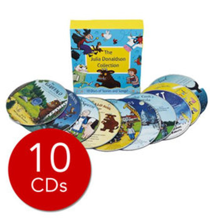 Bargain! Julia Donaldson Audio Collection - 10 CDs at the Book People