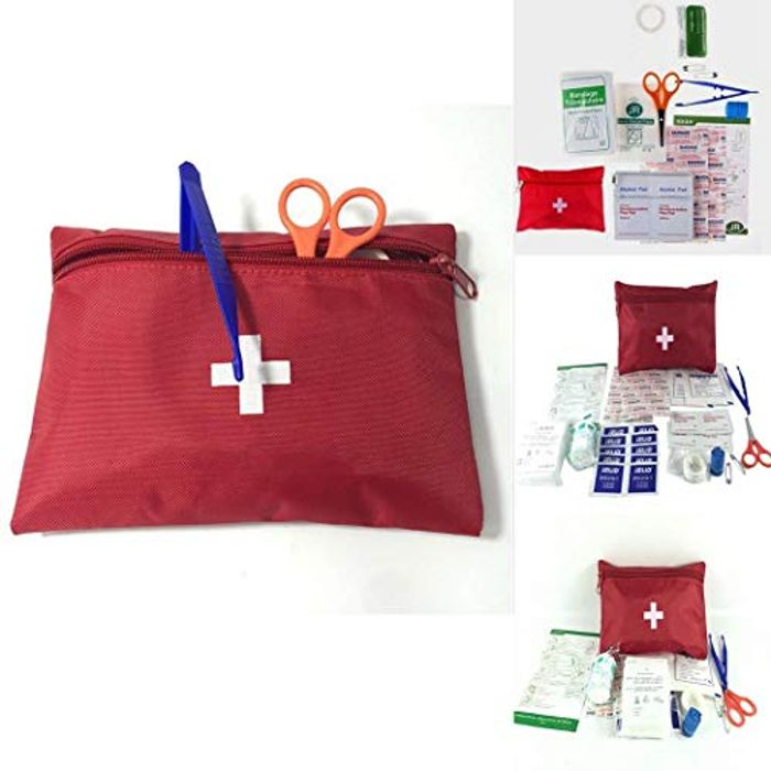 12 Piece Travel First Aid Kit - Free Delivery