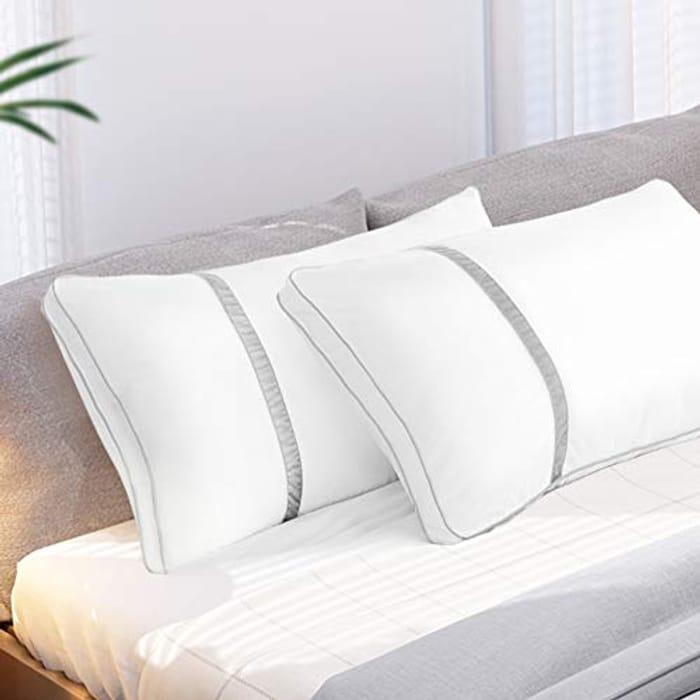 50% off 2 Pack BedStory Sleeping Pillows, Hotel Pillow