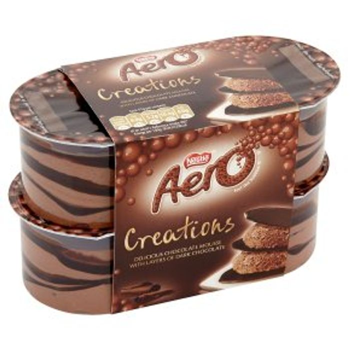 Nestle Aero Creations 4x57g - HALF PRICE!