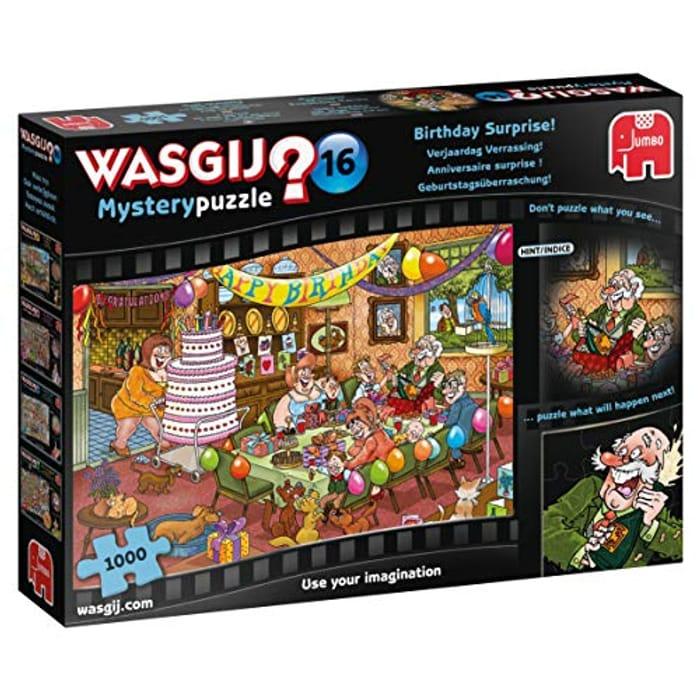 Best Price Jumbo Wasgij Mystery 16-Birthday Surprise 1000 Piece Jigsaw Puzzle
