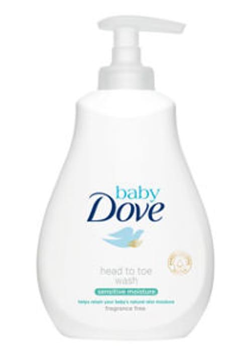 Baby Dove Sensitive Moisture Fragrance Free Head to Toe Wash