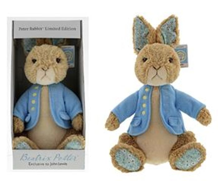 Peter Rabbit Soft Toy in Gift Box - REDUCED TO CLEAR AT JOHN LEWIS