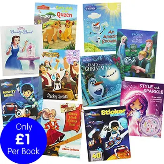 Disney Stories - 10 Kids Picture Books Bundle