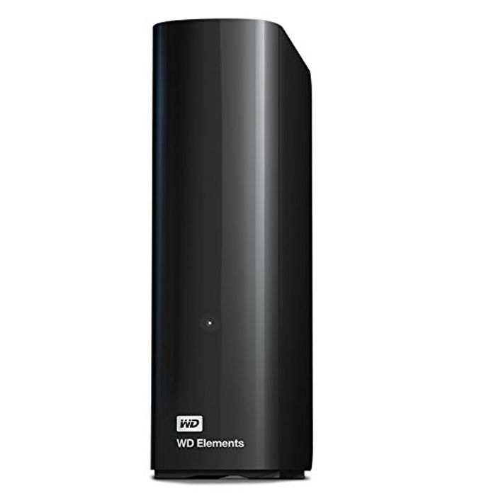 WD 4TB Elements Desktop External Hard Drive - USB 3.0