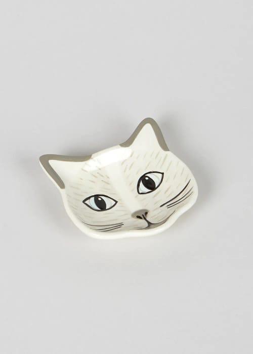 Cat Teabag Tray (9cm)