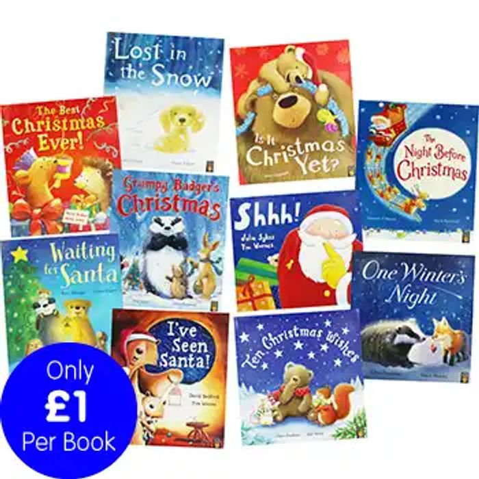 Christmas Tales - 10 Picture Books Bundle