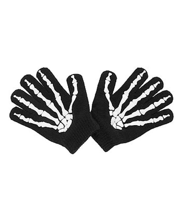 Best Price Glow in the dark skeleton gloves