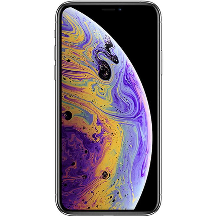 "Apple iPhone XS Silver 5.8"" 64GB 4G Unlocked & SIM Free"