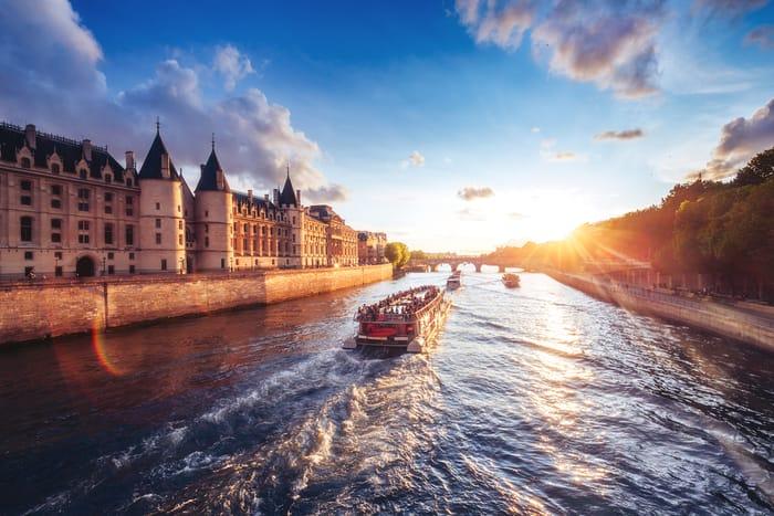 River Seine Sightseeing Cruise in Paris