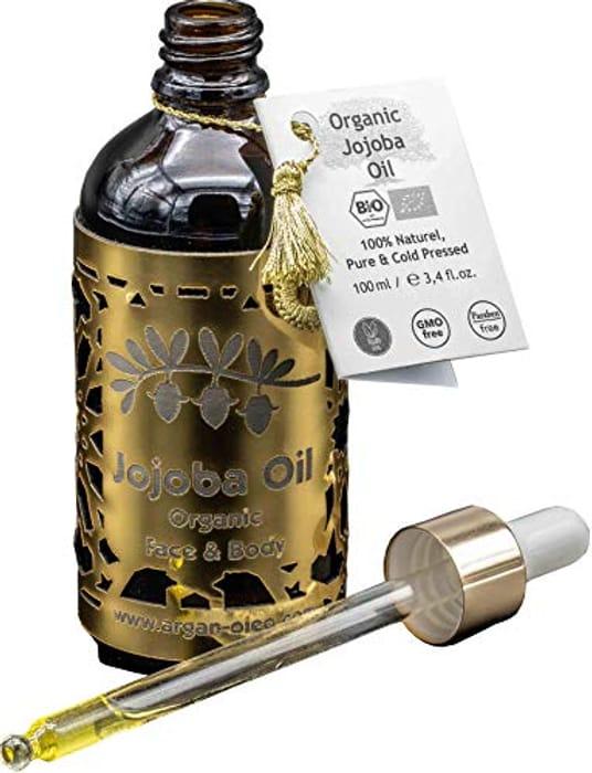 R&M Jojoba Oil - Premium Jojoba Oil for Face