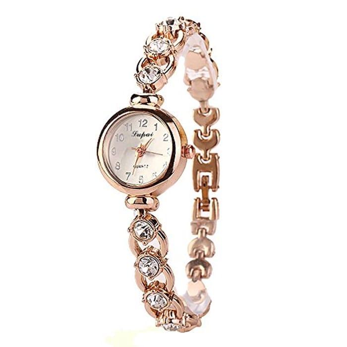 Ladies Bracelet Watches Sale Clearance Womens Analog Quartz Wrist Watch
