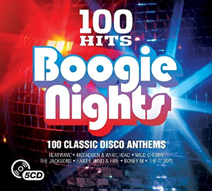 100 Hits: Boogie Nights 100 Track CD Box Set on Sale From £10.76 to £2.99