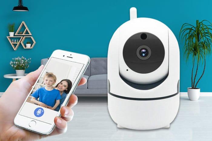 Home Security HD Tracking WiFi IP Camera & Optional 32GB SD Card