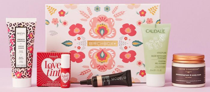 Two Beauty Boxes for £10 Birchbox