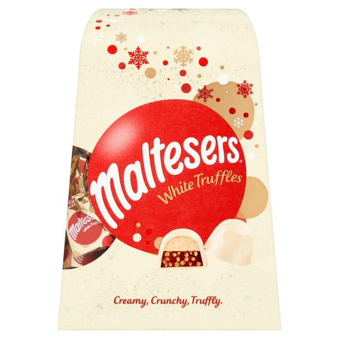 White Malteser Truffles 200g Down From £5 to £3.5