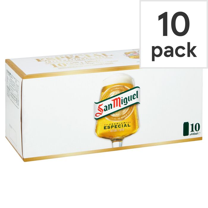 San Miguel Lager 10X440ml Can