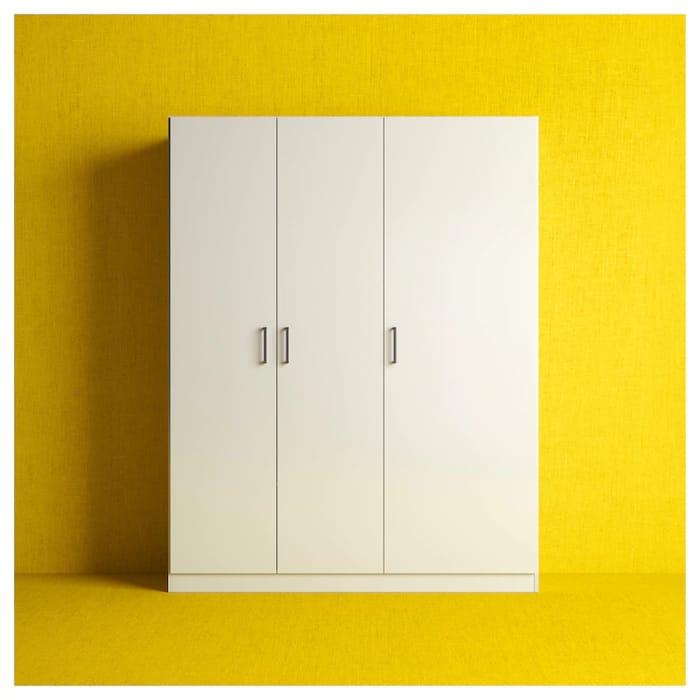 Ikea Dombas Triple Wardrobe
