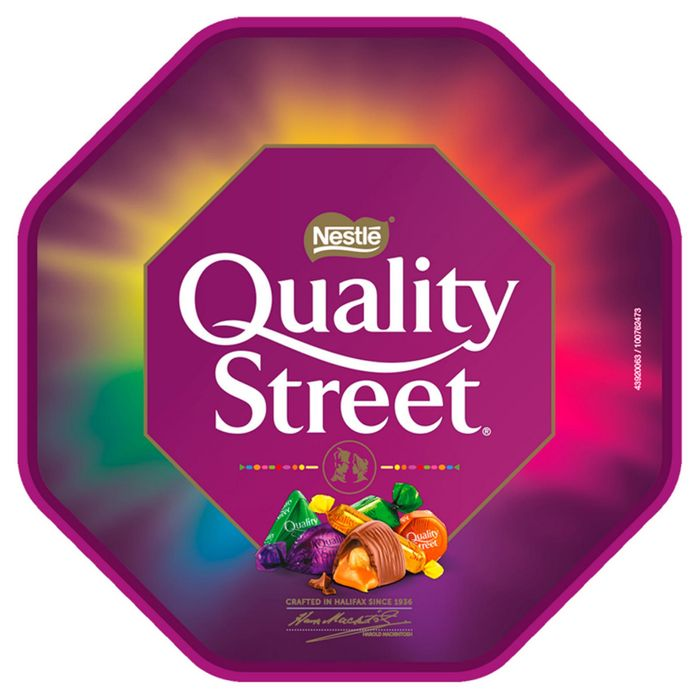 2 For 7 Chocolate Sweet Tubs Inc Roses Quality Street