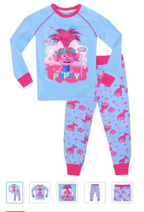Trolls Snuggle Fit Pyjamas - Poppy On Sale From £13 to £5.95