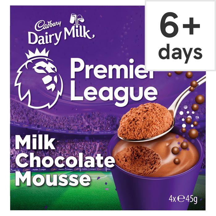 2 X Cadbury Bubbles of Joy Chocolate Mousse 4X45g