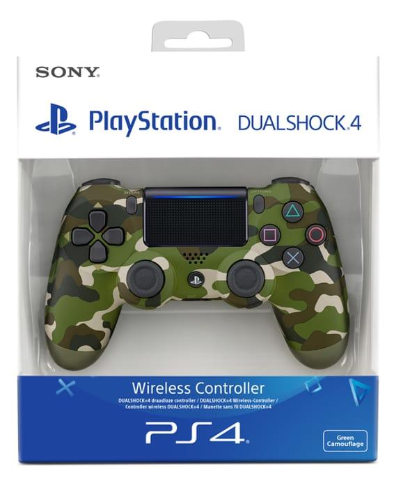 DualShock 4 Controller V2 (Camo, Red, Blue, White, Black) £33.85 at ShopTo