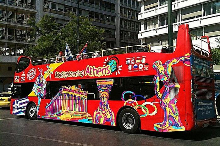 Citysightseeing Hop on Hop off Athens Tour with 24hr Pass + 1 Day Free