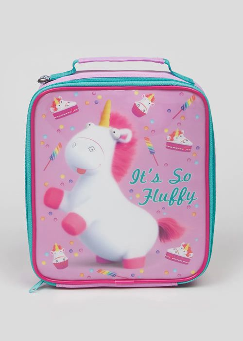 Cheap Kids Despicable Me Fluffy the Unicorn Lunch Bag (24cm X 20cm), Only £4
