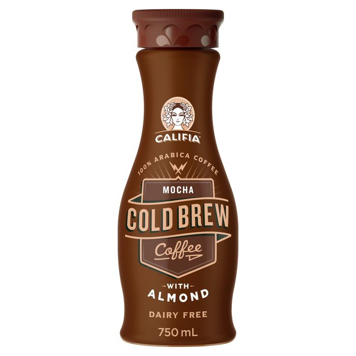 2 X Califia Farms Mocha Cold Coffee with Almond 750Ml
