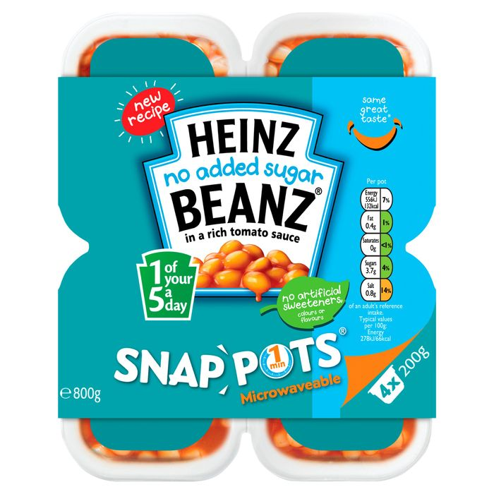 2 X Heinz 4 X 200G