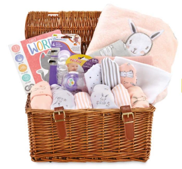 Cheap Bunny Rabbit Baby Hamper Only £39.99