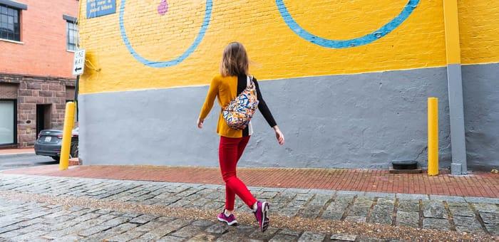 Get 25% off a Melin Tregwynt Healthy Back Bag