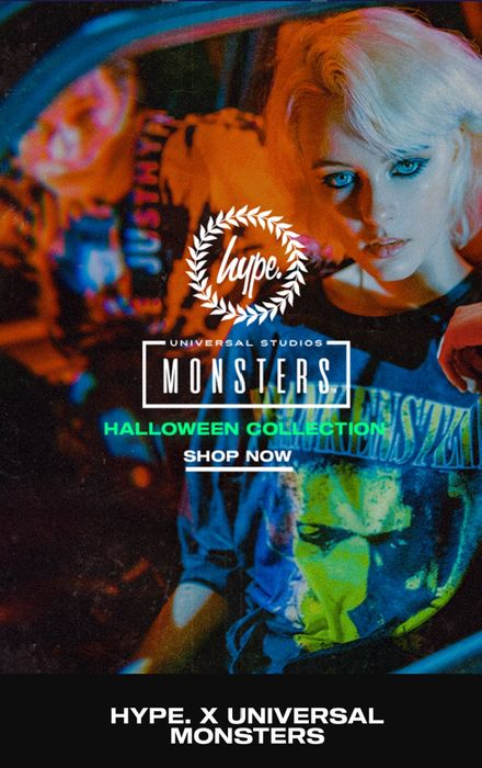 Hype Monster Halloween Collection 35% off Mens Womens Kids