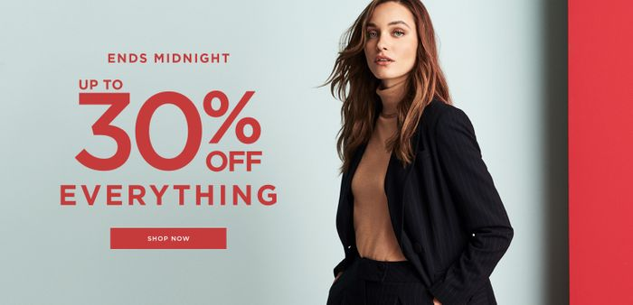 DOROTHY PERKINS - up to 30% off EVERYTHING - ENDS MIDNIGHT!