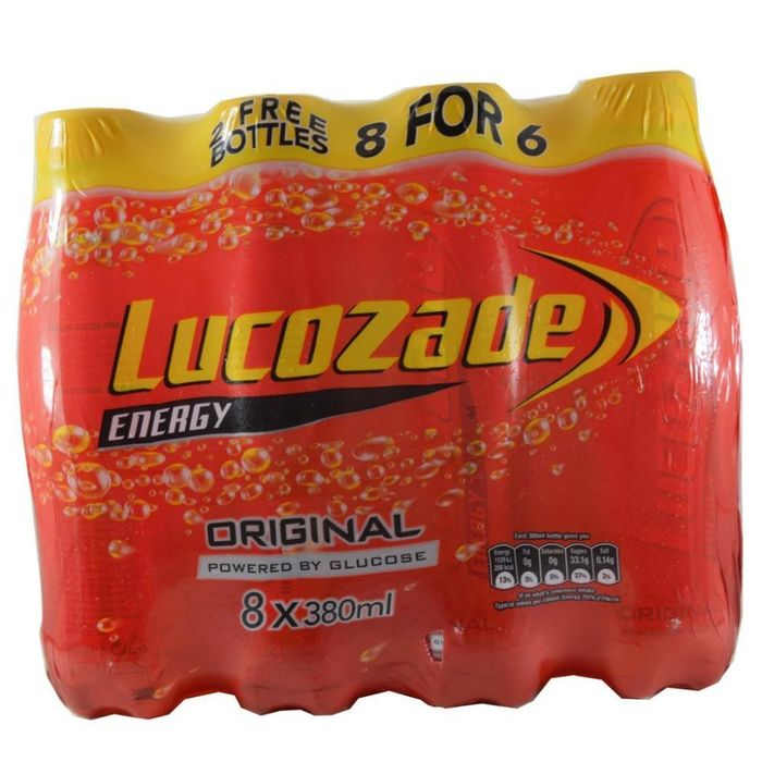 Original Lucozade - Save £2