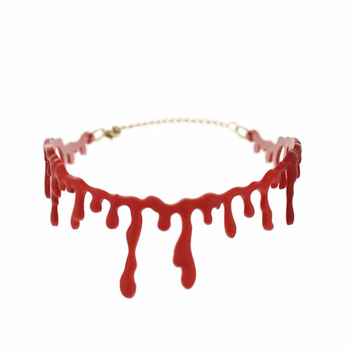 Bloody Scar Choker Necklace at Amazon - Only £0.76!