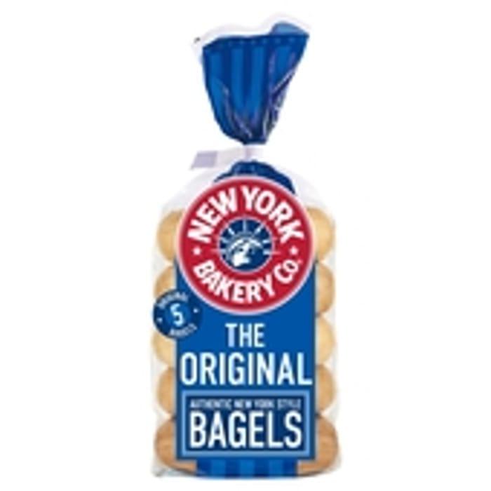 New York Bakery Co Original Bagels 5 per Pack