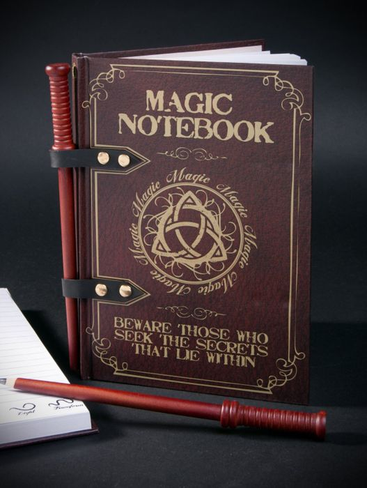 Magic Wand Note Pad at The Gift And Gadget Store