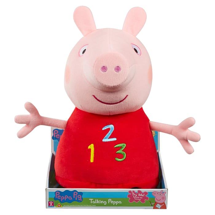 Best Price - Peppa Pig 123 Soft Toy - HALF PRICE