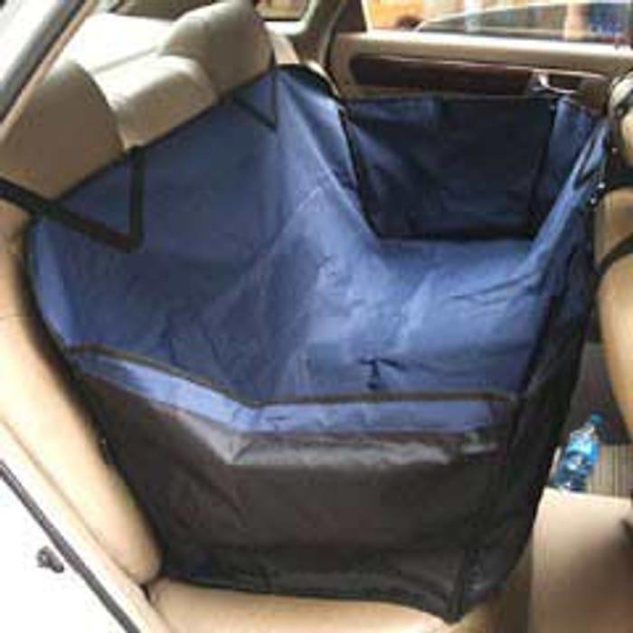 Car Hammock Seat by PetPlanet - Blue
