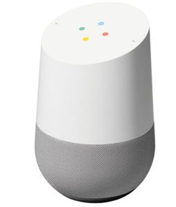 Google Home (White) + Google Home Mini (Chalk / Coral / Charcoal) for £83