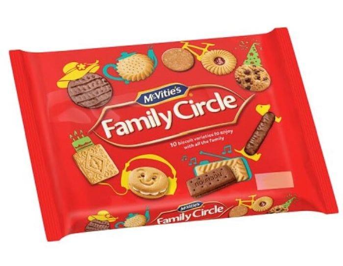 Mcvities Family Circle 360G - HALF PRICE!