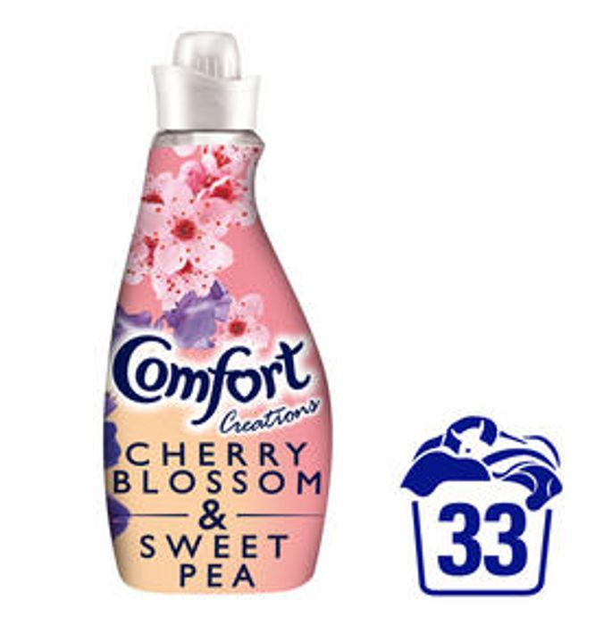 Comfort Creations Cherryblossom & Sweetpea Fabric Conditioner 33 Wash 1.16L
