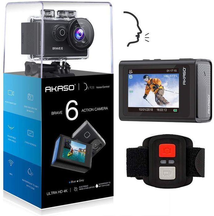 Deal Stack - Action Camera - £15 off + Lightning Deal