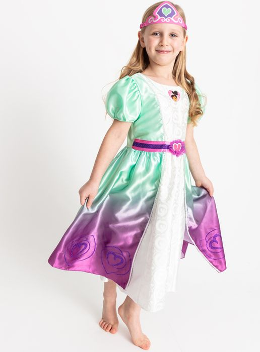 Cheap Nella the Princess Knight Green Costume (2-8 Years) with 50% Discount