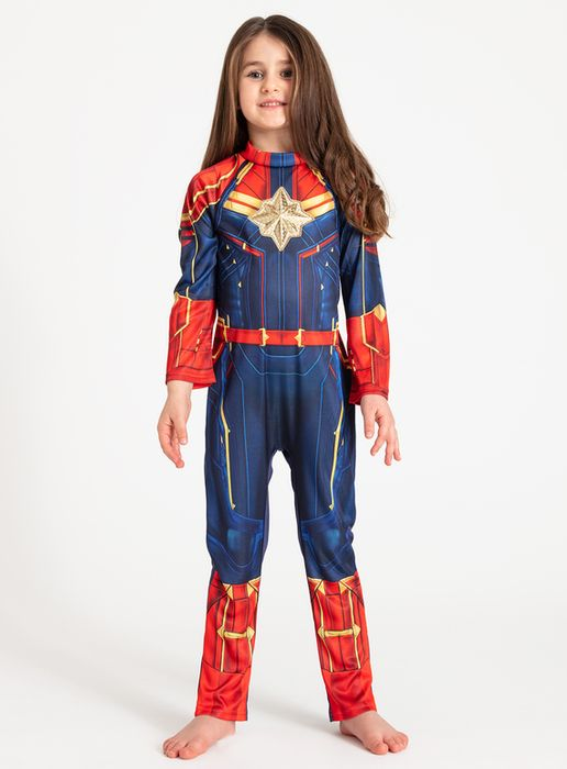 Best Price Online Exclusive Marvel Avengers Captain Marvel Costume (3-10 years)