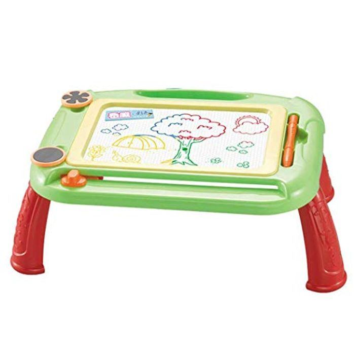 Kids Magnetic Drawing Board with Holder - Educational Toy - Doodle & Scribble