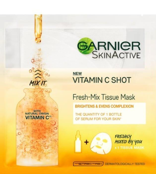 Best Price Garnier Vitamin C Fresh-Mix Tissue Face Mask 32G